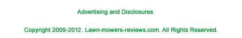 footer for lawn mower reviews page