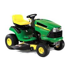 John Deere 48 with Mowing Deck