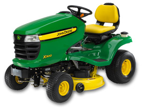 John Deere X300 Lawn Tractor