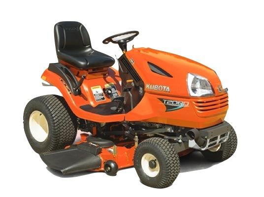 Kubota GR2100 lawn tractor