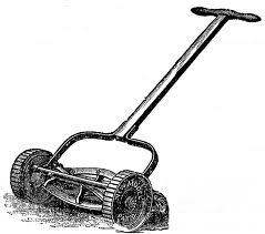 Vintage Reel Mower